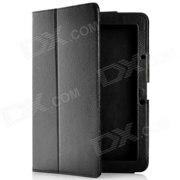 Protective PU Leather Case for Acer Iconia Tab A510 - Black
