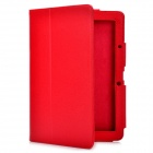 Protective PU Leather Case for Acer Iconia Tab A510 - Red