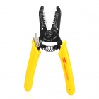 BOSI Professional Steel Wire Stripping Pliers - Yellow + Black