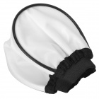 Cloth / Soft Camera Flash Diffuser - White + Black