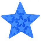 Silicone Five-Pointed Star Shaped Ice Cubes Trays Maker DIY Mould - Blue