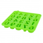 Silicone Number Style Ice Cubes Trays Maker DIY Mould - Green