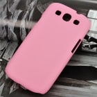 Protective Plastic Case for Samsung Galaxy S3 i9300 - Pink