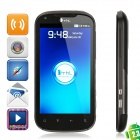 "THL V9 Android 2.3 WCDMA Smart Phone w/ 4.3"" Capacitive, GPS, Wi-Fi and Dual-SIM - Black"