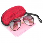 UV400 UV Protection Resin Lens Sunglasses with Carrying Case