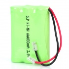 Delipow 800mAh 3.6V Rechargeable Ni-MH Battery for Wireless Telephone - Green