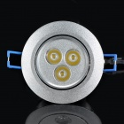 3W 300~330LM 3000~3300K 3-LED Warm White Light Bulb (90~265V)