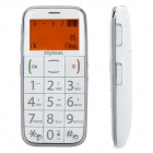 "ARCCI S728 Old Senior GSM Bar Phone w/ 1.6"" Screen, Dual-Band, Single-SIM and FM - White"