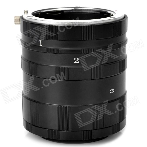 Micro Extension Tube for Sony NEX-3 + More macro extension tube for sony e mount ac ms silver grey