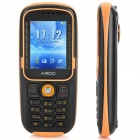"Arcci D808 Ultra-Rugged IP-57 GSM Cell Phone w/ 2.0"" Screen, Tri-Band and FM - Black"