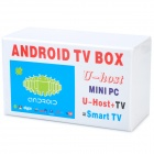 C77 Android 4.0 MINI PC Google TV Cloud Stick - White (512M RAM/8G)