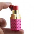 Creative Lipstick Shaped Butane Gas Lighter - Red + Pink