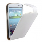 Protective PU Leather Flip Open Case for Samsung Galaxy S3 i9300 - White