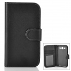Protective Flip-open PU Leather Case for Samsung Galaxy S3 i9300 - Black