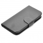 Protective Flip-Open PU Case for Samsung Galaxy S3 i9300 - Black