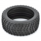 1/8 Rubber Racing Off-Road Car Model Replacement Tire w/ Insert Sponge - Black (110mm x 43mm)