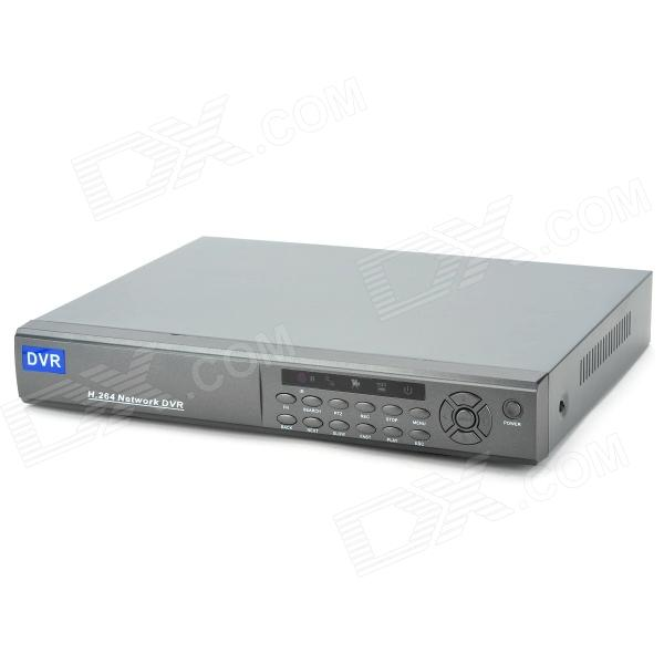 Embedded Linux 16-CH Network DVR Digital Video Recorder w/ USB / LAN / VGA / RS485 / Alarm - Grey