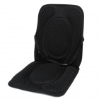 Car Elastic Heat Proof Seat Pad - Black
