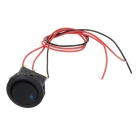 Car DIY 3-Lines Rocker Switch with Blue Indicator Light - Blue