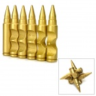 Educational Wood Bullet Interlock Toy - Yellowish Brown