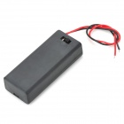 2 x AAA Batteries Holder Case Box with Leads