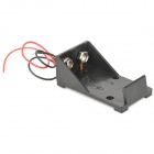Buy 9V Battery Holder Case Box Leads - Black
