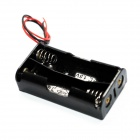 2 x AA Batteries Holder Case Box with Leads