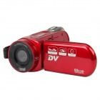 "DV-323 2.7"" TFT 5MP 42X Intelligent Zoom Digital Camcorder - Red (2GB)"