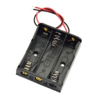 3 x AA Batteries Holder Case Box with Leads