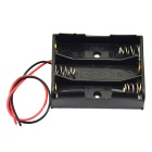 3 x AAA Batteries Holder Case Box with Leads