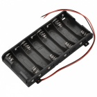 8 x AA Batteries Holder Case Box with Leads