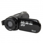"DV-323 2.7"" TFT LCD 5.0MP CMOS Digital Camera Camcorder w/ 42X Intelligent Zoom - Black (2GB)"