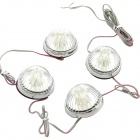 DC 12V 4 x 8-LED Car Decorative Side Lamp