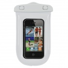 SM-C03 Universal Waterproof Bag with Lanyard for iPhone / Cell Phone - White