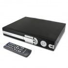 Embedded Linux 8-CH Network DVR Digital Video Recorder w/ USB / LAN / VGA / RS485 / Alarm - Black