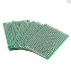 Double-Sided Glass Fiber Prototyping PCB Universal Board (5PCS)