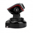 1.0MP Security Surveillance IP Network Camera w/ Wi-Fi / IR-Cut / 10-IR LED / SD / RJ45 - Black