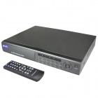 Embedded Linux 4-CH D1 Network DVR Digital Video Recorder w / Dual USB / LAN / VGA / RS485 / SATA