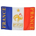 Sports Football France Cheering Flag (95 x 60cm)