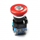 DIY Power Control Emergency Stop Switch - Red + Black