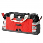 Topsky Multifunction Outdoor Travel One-shoulder Bag - Red + Grey + Black (28L)