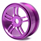87mm Aluminum Alloy 10-Spoke Wheel Hub for 1:8 R/C Off-road Car - Purple