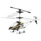 Iphone/Ipod Touch/Ipad Controlled Rechargeable 3.5-CH R/C i-Helicopter w/ Gyroscope - White + Black