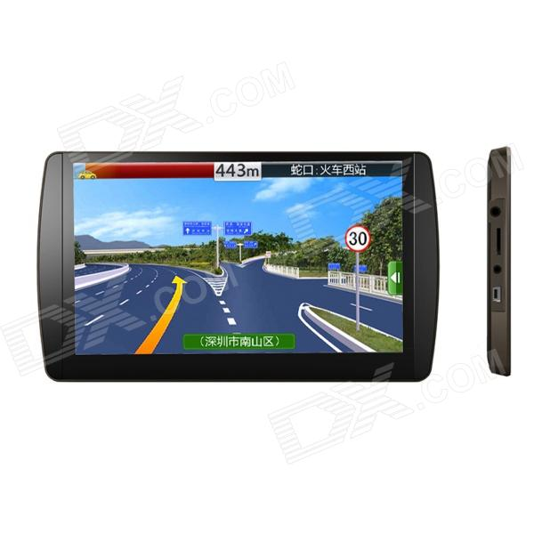 """7"""" Capacitive Touch Screen Android 2.2 GPS Navigator w/ WiFi / FM / TF / AV-in / US Map - Black"""