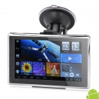 "5"" Touch Screen LCD Android 4.0 GPS Navigator w/ TF/Mini USB/3.5mm Jack/Internal Canada Map  (8GB)"