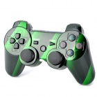 Dual-Shock Bluetooth V4.0 Wireless Controller for PS3 - Black + Green