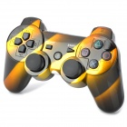 Dual-Shock Bluetooth V4.0 Wireless Controller for PS3 - Black + Golden
