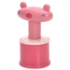 Cartoon Style Single Bead Rolling Ball Roller Full Body Massager - Pink