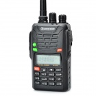 "Wouxun KG-UV6D 1.6"" LCD 5W 136~174MHz / 400~470MHz Dual Band Multifunctional Walkie Talkie - Black"