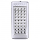3W 90~120lm 6000K 36-LED White Light Interior Dome Lamp - Silver